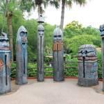 """Tiki Statues I"" by kozakoff"