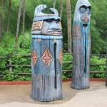 """Tiki Statues II-A"" by kozakoff"