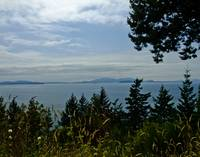 San Juan Islands from Chuckanut Road