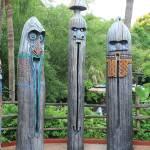 """""""Tiki Statues II-B"""" by kozakoff"""