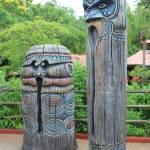 """Tiki Statues II-C"" by kozakoff"