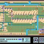 """Vancouver Mario 3 Skytrain Map With No Clouds"" by originaldave77"