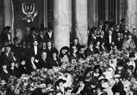President Wilson at Ladies Luncheon by WorldWide Archive