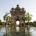 """Patuxai Arch - Vientiane, Laos"" by Crider-Michael"