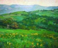 Impressionist Plein Air  Painting of Oregon