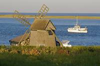 Chatham Windmill & Fishing Boat