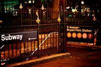 5 Avenue - Bryant Park Station_ New York City_ USA