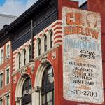 """A Vintage Sign_ CO Bigelow Pharmacy_ New York City"" by tysonwilliams"