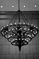 Art Deco Chandelier, New York City, USA