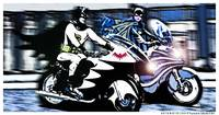 Dark Knight Patrol in Gotham City