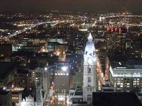 philly night from above