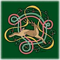 Celtic Reindeer Knots
