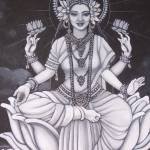 """Lakshmi Black&White"" by LauraCameron"
