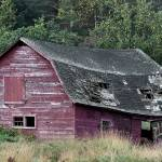 """Old Red Barn in Upstate NY"" by BrendanReals"