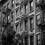 """Fire escapes of NY_ New York City_ USA977167257739"" by tysonwilliams"