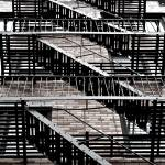"""Fire escapes of NY_ New York City_ USA106959383748"" by tysonwilliams"