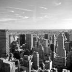 """Manhattan from above_ New York City_ USA6265997924"" by tysonwilliams"