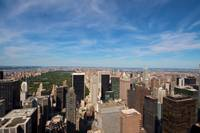 Midtown NY from Top of the Rock_ New York City_ US