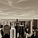 """Midtown NY from Top of the Rock_ New York City_ US"" by tysonwilliams"