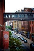 Pedestrian bridge of Nabisco factory_ New York Cit