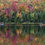 """Adirondack Fall Scene"" by BrendanReals"