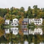 """Lake Placid Panorama"" by BrendanReals"