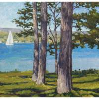 """Sailing through the trees"" by davidwesterfield"