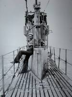 US NAVY Sailor on a Sub