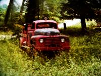 Old Red the Firetruck