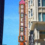 """Oriental Theater with ""Sponge Painting"" Effect"" by Ffooter"