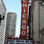 """Chicago Theater with ""Watercolor"" Effect"" by Ffooter"
