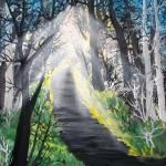 """To the light"" by elajanus"