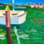 """""""Santa Cruz Harbor"""" by Rudy"""