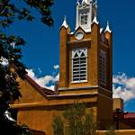 """the church in old albuquerque14"" by Mac"