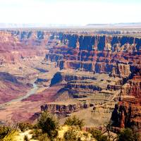 GRAND CANYON EAST END Art Prints & Posters by AZCOYOTE