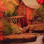 """""The Grist Mill"""" by CliffBishopArt"