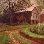 """""Roswell Barn"""" by CliffBishopArt"