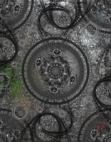 ClockWize Steampunk Fractal