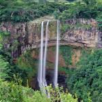 """Chamarel waterfall Mauritius"" by Leksele"