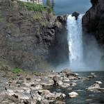 """Snoqualmie Falls"" by Leksele"