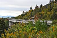 Linn Cove Viaduct Oct 1st 2011