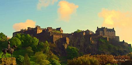 Edinbourgh Castle  Scotland