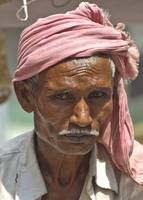 Portrait of Old Indian man
