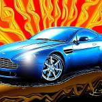 """Aston Martin Vantage"" by jt85"