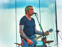 Art Alexakis of Everclear in HDR