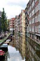 Amsterdam buildings.