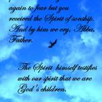 """Spirit of Sonship"" by SLMcLeroy"