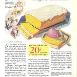 """VINTAGE AD HOSTESS CAKE"" by homegear"