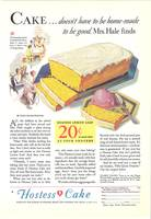 VINTAGE AD HOSTESS CAKE