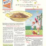 """VINTAGE AD WHEATIES"" by homegear"